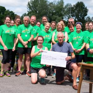 Bovey Valley Runners Fundraising